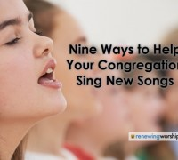 Nine Ways Help Sing