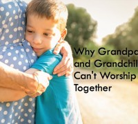 Grandparent children worship