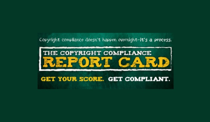 Copyright Compliance Report Card