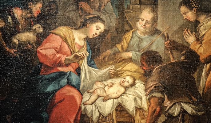 Worship the Christ Child in the New Year