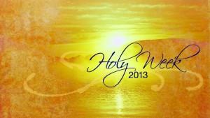 HolyWeek2013