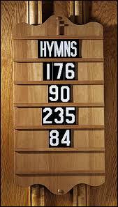 hymn-board