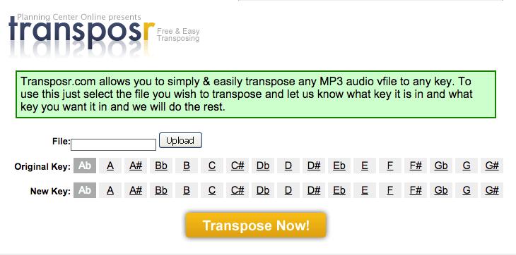 TransposrAudio