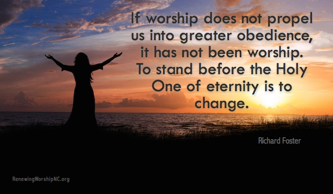 Worship Quote Foster