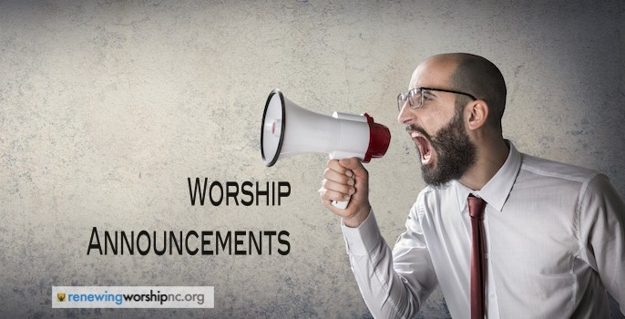 WorshipAnnouncements