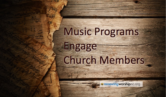 Music Programs Engage Church Members