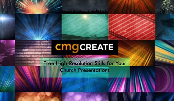 Free High-Resolution Stills for Your Church Presentations