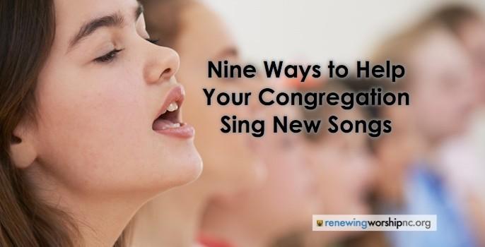 Nine Ways Help Sing
