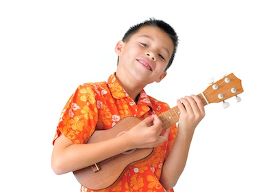 Happy Ukulele Boy