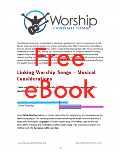 How to Transition Songs for a Seamless Flow in Worship | Renewing