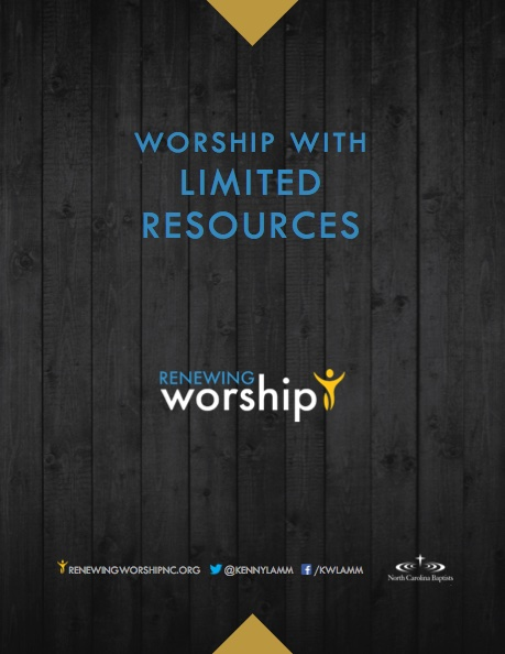 worship-with-limited-resources
