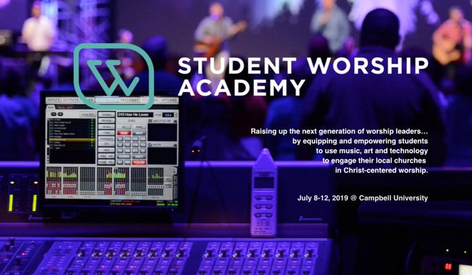 Great Opportunity for Training Student Worship Leaders Coming Next Summer