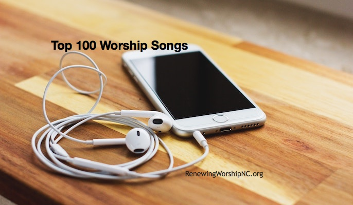 Newly Updated: Top 100 Worship Songs from CCLI