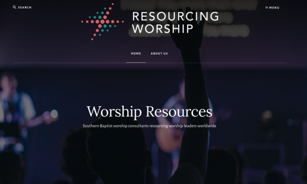 SBC State Consultants Repurpose Worship Resource Website