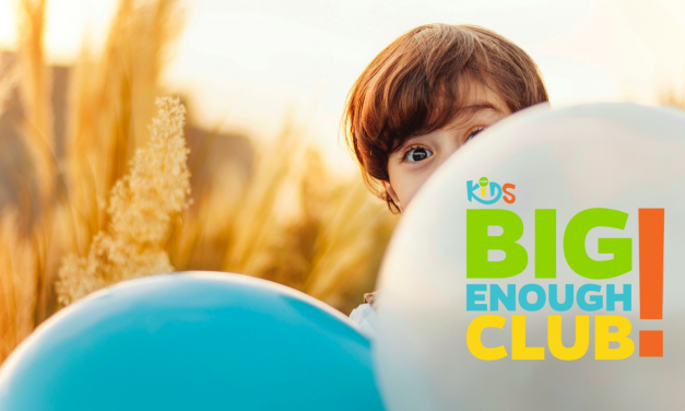"""Big Enough Club: Help Your Children In Their Move to """"Big Church"""""""